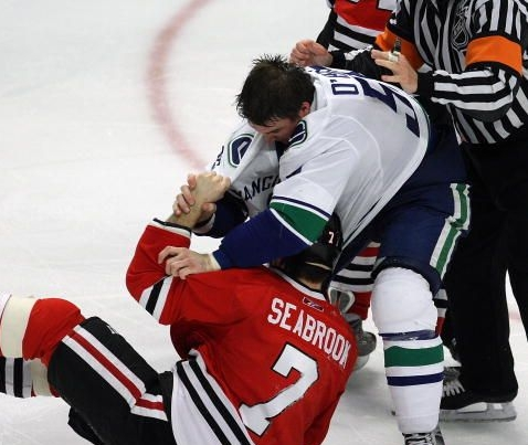 I want to see some BEAT DOWNS against the Blackhawks tonight!