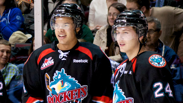 Madison Bowey and Tyson Baillie are leading the way for the strong Kelowna Rockets