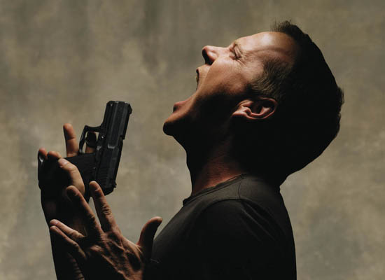 Much like Jack Bauer, I too often stop cleaning my gun to scream momentarily.