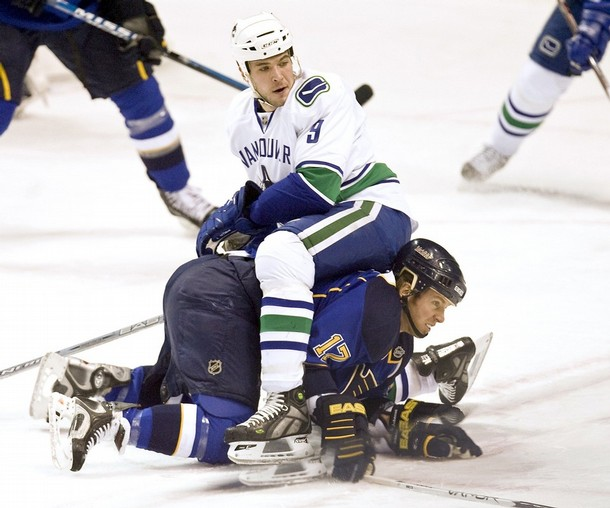 Canucks vs. Blues