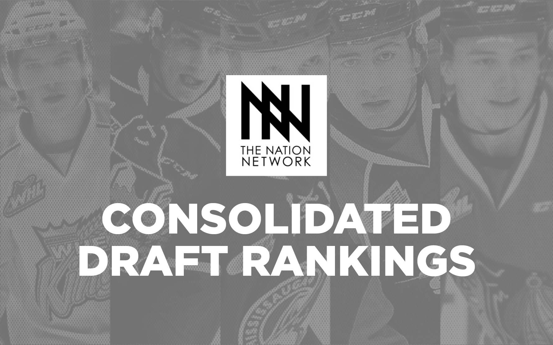 consolidated draft rankings for the 2017 nhl entry draft
