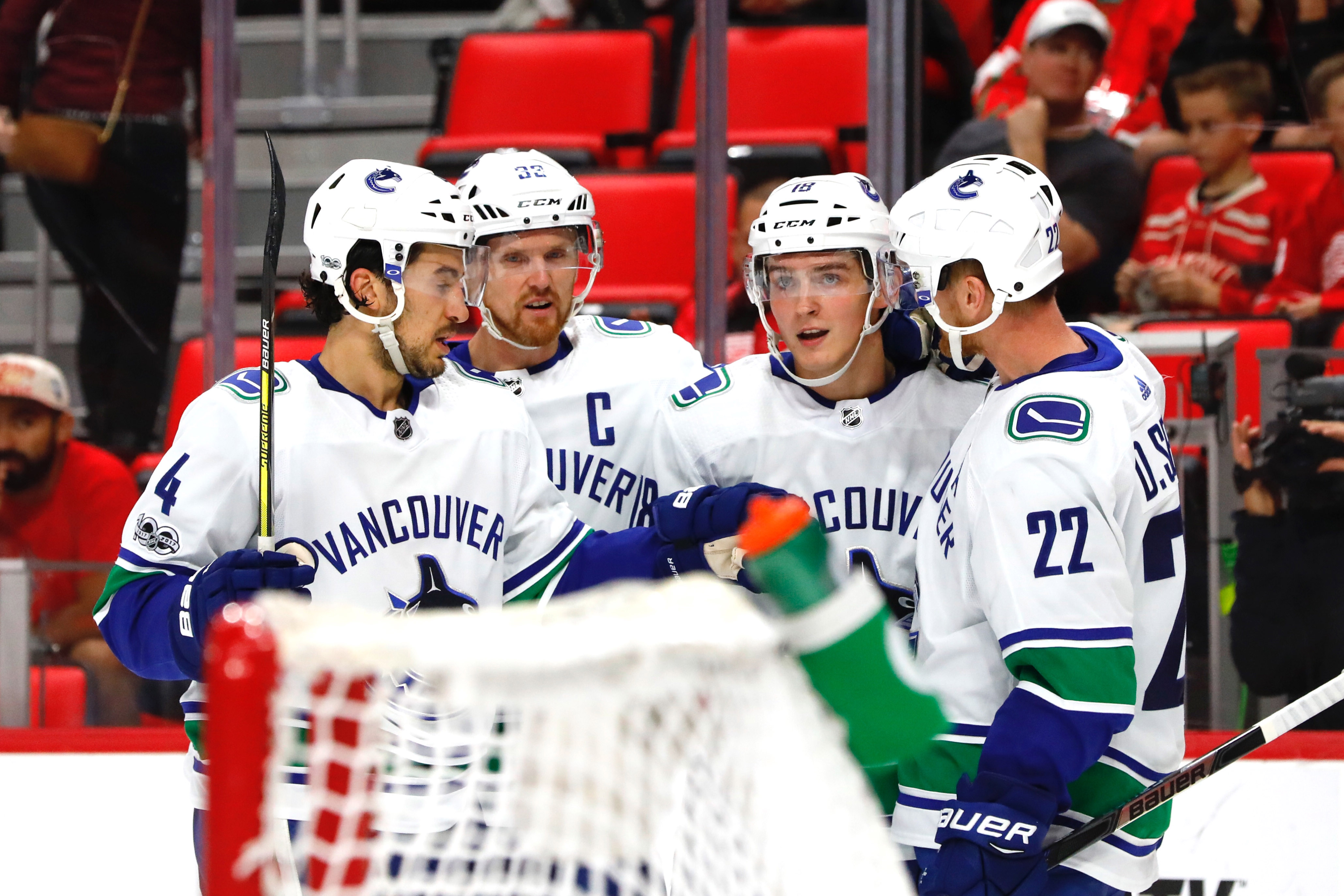 Canucksarmy Post Game Canucks Leading Goal Scorer Derek Dorsett Canucksarmy