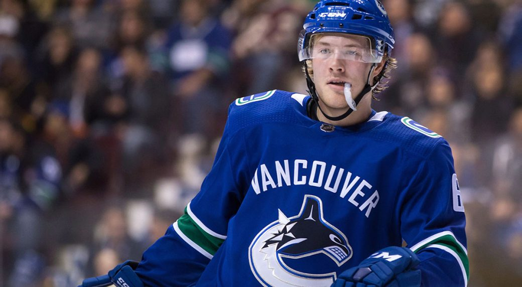 39a5ecc86 Why Brock Boeser Should Be Captain Of The Vancouver Canucks ...