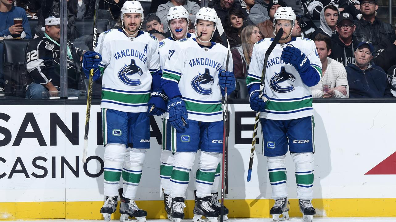 Vancouver Canucks at Los Angeles Kings Post-Game Recap  Stopping The Skid  In Style e3797c4d6