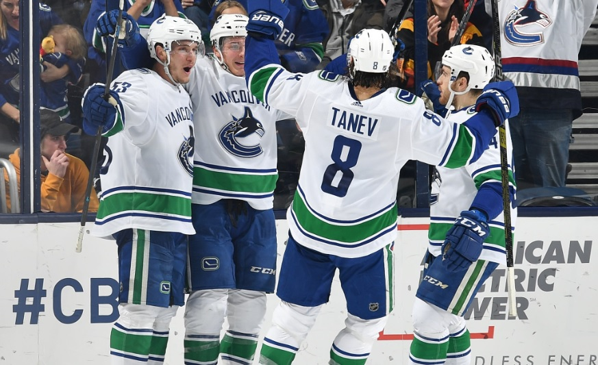 da99756c4 Vancouver Canucks vs Columbus Blue Jackets Post Game Recap  Gutting One Out  Versus The Gunners