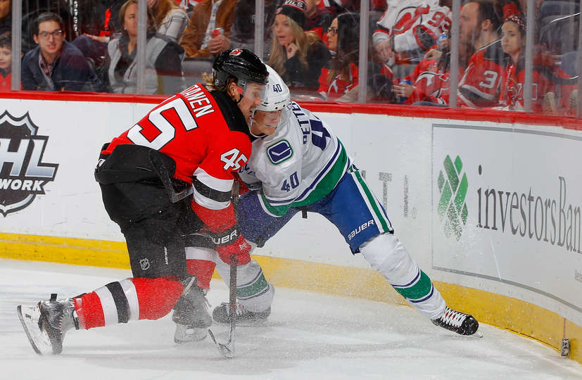 00048e809 Vancouver Canucks at New Jersey Devils Post-Game Recap: New Year's In New  Jersey