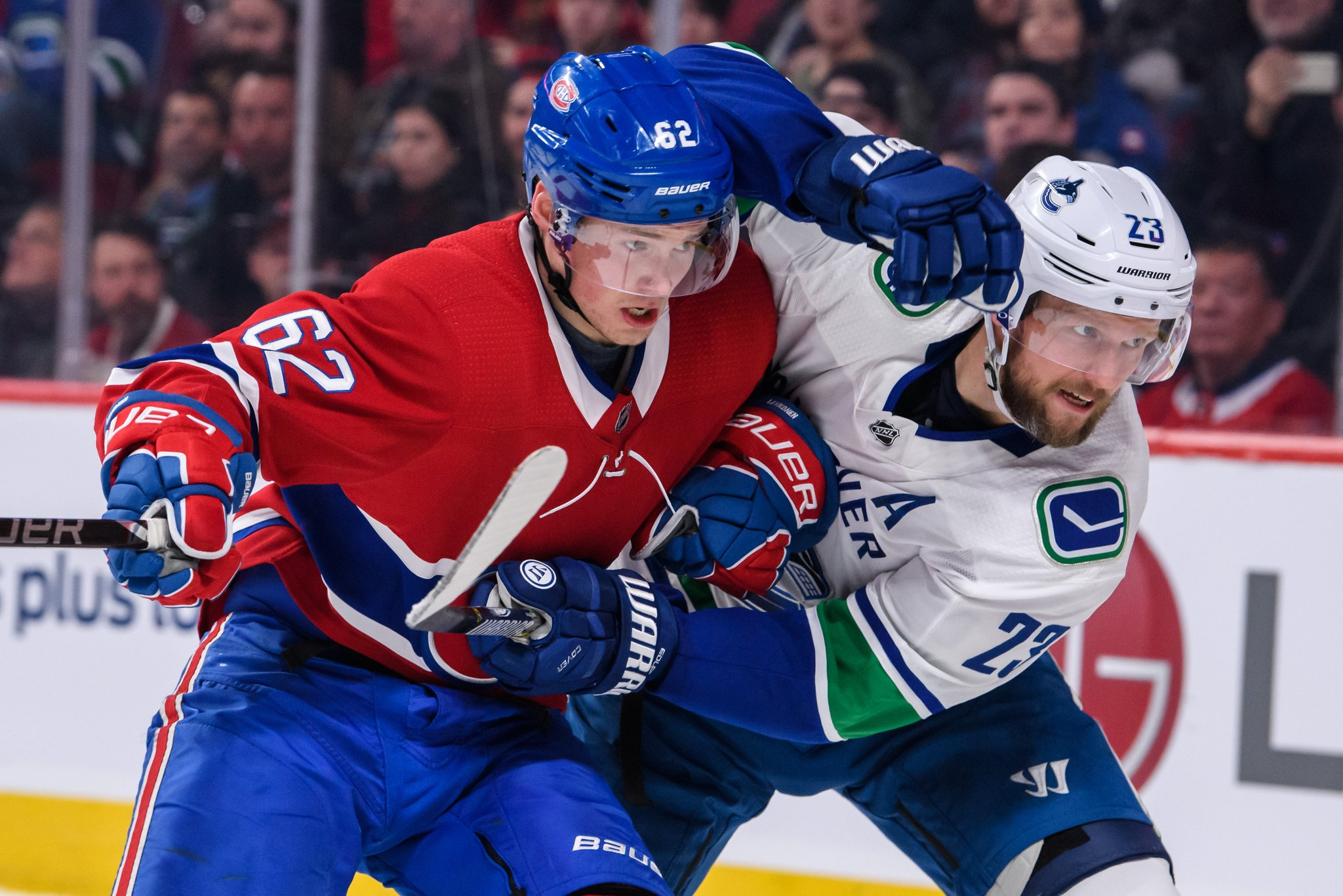 ad5ee3eb5 Vancouver Canucks vs Montreal Canadiens Post Game Recap  An un-Swede  Finnish in Montreal