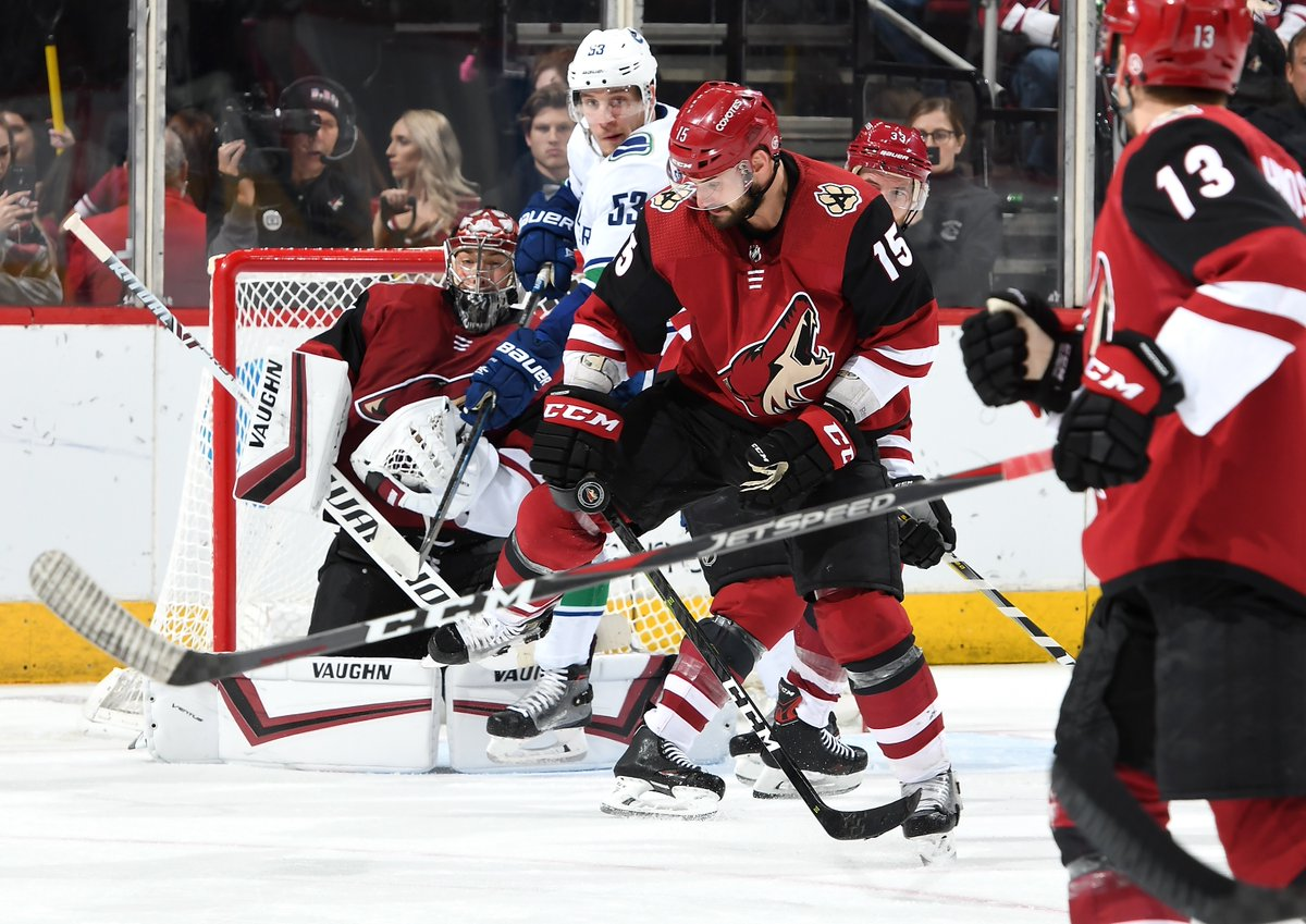 Vancouver Canucks at Arizona Coyotes Post-Game Recap  The Brad Richardson  Show 28fed0d7b7ae