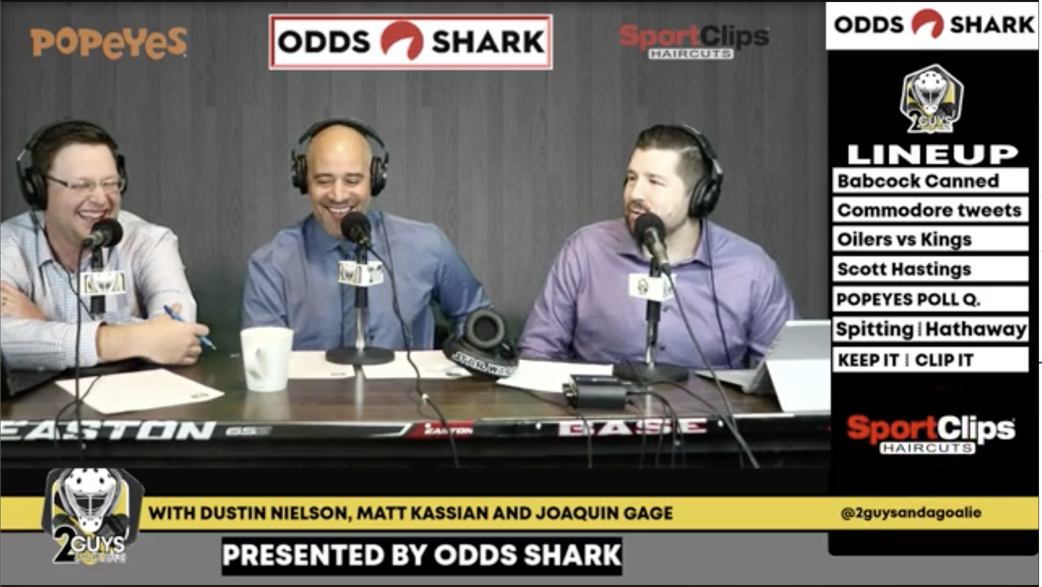 """2 Guys and a Goalie pres. by Odds Shark Ep. 18 f/ Scott Hastings-""""Headbands for Mini-Skirts"""""""