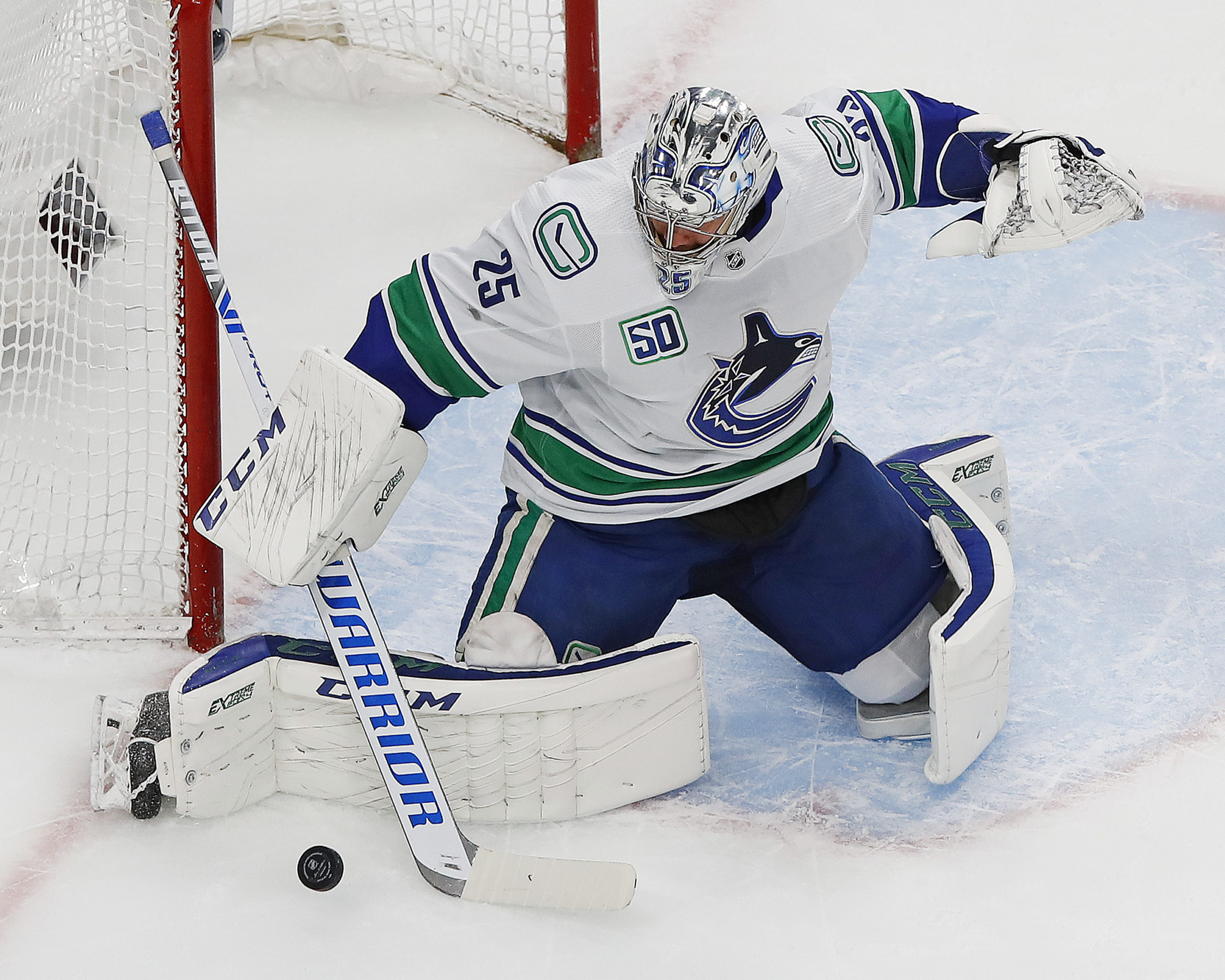 Why Should Jacob Markstrom Be The Vancouver Canucks Next Franchise Goaltender
